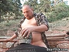 Gay bears outside fucking their brains gay sex