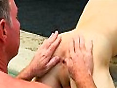 Hot gay sex Daddy Brett obliges of course, after sharing some oral