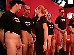 German Blonde cumswallow babe