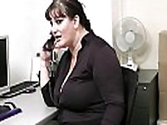 Office momvson japan with boss and busty secretary