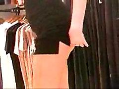 Flashing at clothing store
