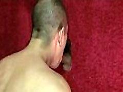 Gloryholes and handjobs - Nasty wet gay hardcore XXX sex 30