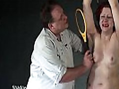 Isabels Deans whipping to tears and electro sanee leyonee xxx of crying amateur pumping pussy at pool girl