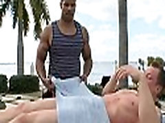 Homosexual massage experience