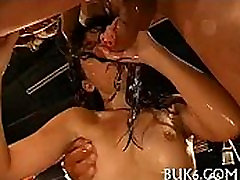 Cumshots on babe&039s nice-looking face
