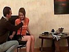Kinky teen gets a hardcore pounding