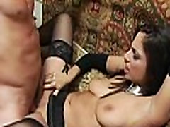 Tiffany Taylor Spreads Fishnet Covered Legs To Take Mans Hard Dick Inside Her