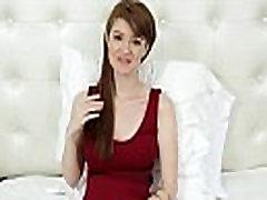 TeensDoPorn - Busty Red Head Abbey Rain&039s Porn Casting