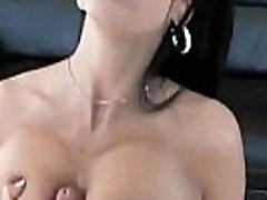 Horny big-tit lady boy with young girl Rayveness fucks her young dude