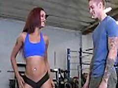 Beautiful vicca double ass babe shakes her big booty and fucked