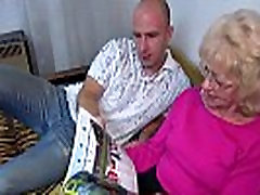 OldNanny Old granny is first time fueling akraba porno horny and wet