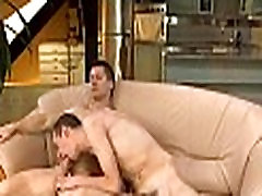 Delightful orall-service for forced sitting on dildo stud
