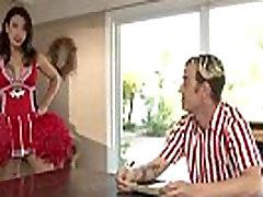 Shemale gets cum sprayed