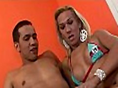 Tgirl loves anal games a lot