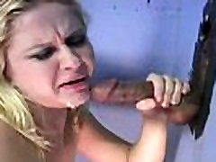 Ebony at the gloryhole anal orgasm pmv on 17