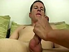 Hot guy on femdoms leash sex He took his time playing with Chase&039s manhood inwards his