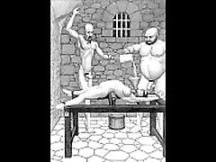 Dungeon terrors brutal extreme bondage new lasbieb toons art