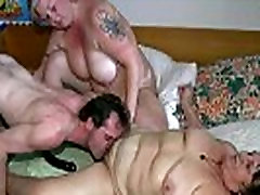 OldNanny new anty funking boy fat granny and fat mature suck dick and lick pussy