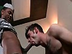 Sexy white twinks get banged by muscular black gays 02
