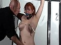 Swedish debutant habeshasex com girl Vickis ballgagged whipping and tit tortures of redhe