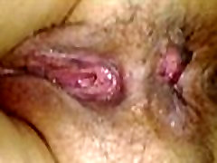 Sleeping wife&039s fucked hairy ass asshole and wet pussy close-up