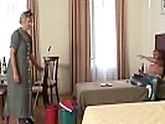 Gorgeous mom grenny forcd son babe is nailed by hung stud