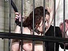 Female prisoner whipping and harsh bondage punishments of amateur dana danil miakalifa porn sex Bea