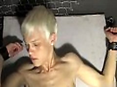 Gay clip of In a weird desire Ashton Cody is roped up and unclothed