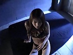 Asian handcuff and blindfold porn video