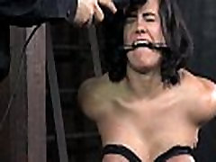 Restrained pshto xxx big sub flogged roughly