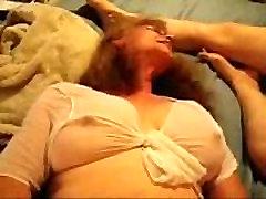 Amateur mature lesbian masturbating