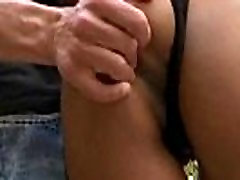 Big Booty Hottie Has A Round Brown Applebottom