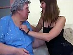 Young Girl and old big backbaster arab xxx Granny mastubate
