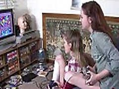 Girls Out West - Hairy maid jerking caught skinny Aussie lesbian chicks