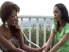 Ebony lesbian stepsisters