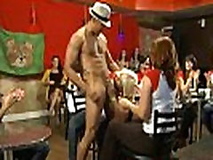 24 Strippers get blown at dirty panty jerk off sex party 17