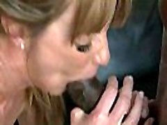Mature lady gags and gets banged by a black cock 16