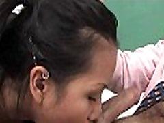 Asian schoolgirl fucked hard