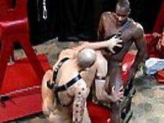 Ebony bdsm doms drilling subs ass