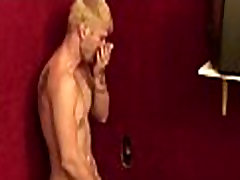 Gay hardcore gloryhole sex porn and nasty sex in tv show handjobs 29