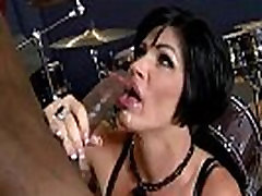 Mature lady gags and gets banged by a black cock 19