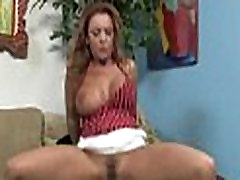 Huge Black Meat Going into Horny Mom 24