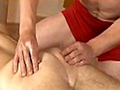 Massaging juvenile hard pecker
