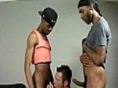 Big muscled black gay boys humiliate white twinks hardcore 16