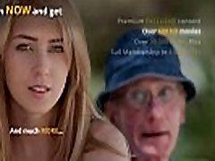Oldmen double penetrates a nasty nurse