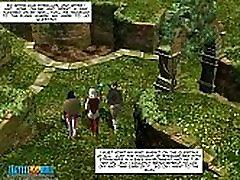 3D Comic: Neverquest Chronicles. Episode 01