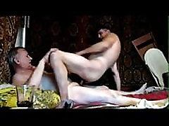 Russian daddy bareback