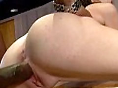Mature lady gags and gets banged by a black cock 7
