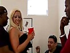 Mature lady gags and gets banged by a black cock 10