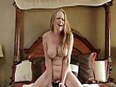 Sex machine makes bigtit mom cum so hard